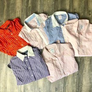 Bundle of 6 Button Up Women's Shirts